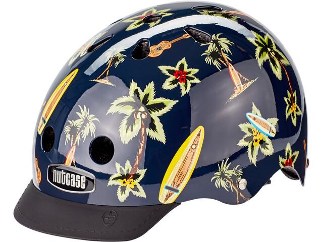 Nutcase Street Helmet Kids hawaiian shirt